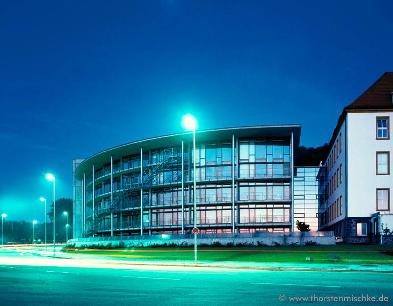 Foto: Kiellinie  Institut für Weltwirtschaft Bibliothek Morgens © www.ThorstenMischke.de Fotodesign Kiel